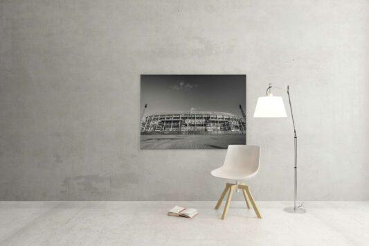 ga je mee stadion feyenoord de kuip ZwartWit010© V1
