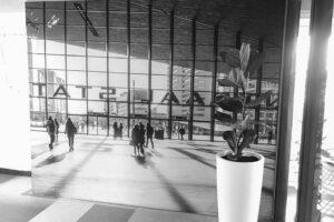 Rotterdam foto op textiel