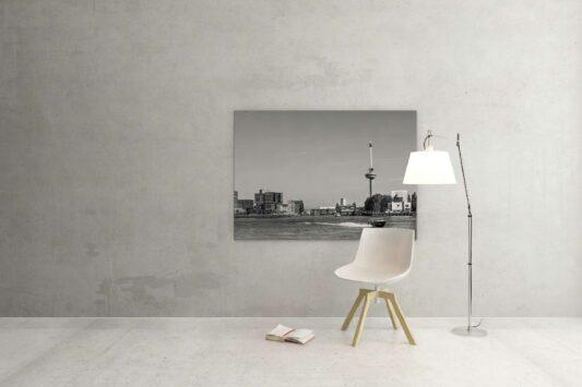 Rotterdam zwart wit foto van ©ZwartWit010. Euromast Watertaxi