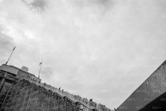 Rotterdam zwart wit foto van ©ZwartWit010 Groothandelsgebouw