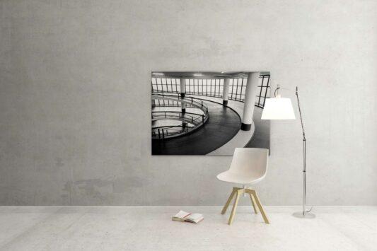 Rotterdam zwart wit foto van ©ZwartWit010. Rotterdam Parkeren
