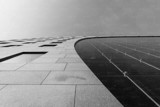 Rotterdam zwart wit foto van ©ZwartWit010 De Markthal