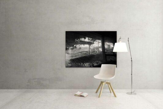 Rotterdam zwart wit foto van ©ZwartWit010. Erasmus MC Renovatie