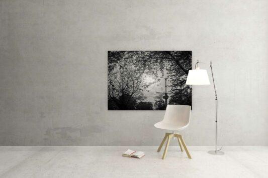 Rotterdam zwart wit foto van ©ZwartWit010 Euromast