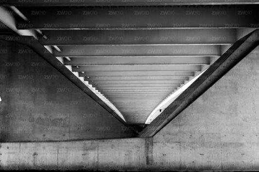 Rotterdam zwart wit foto van ©ZwartWit010. Erasmusbrug