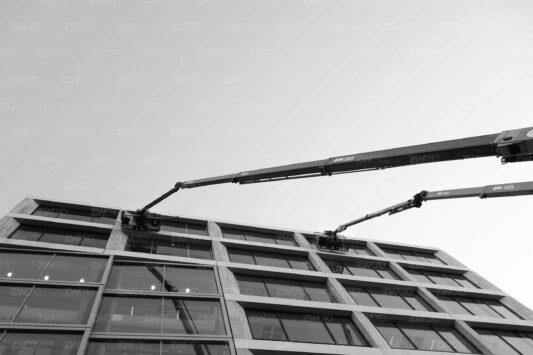 Rotterdam zwart wit foto van ©ZwartWit010. First Rotterdam