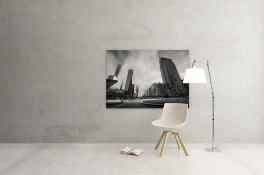 Rotterdam zwart wit foto van ©ZwartWit010 Weena Rotterdam