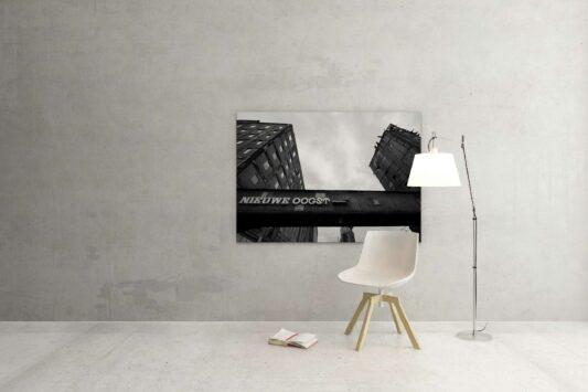 Rotterdam zwart wit foto van ©ZwartWit010. Maassilo