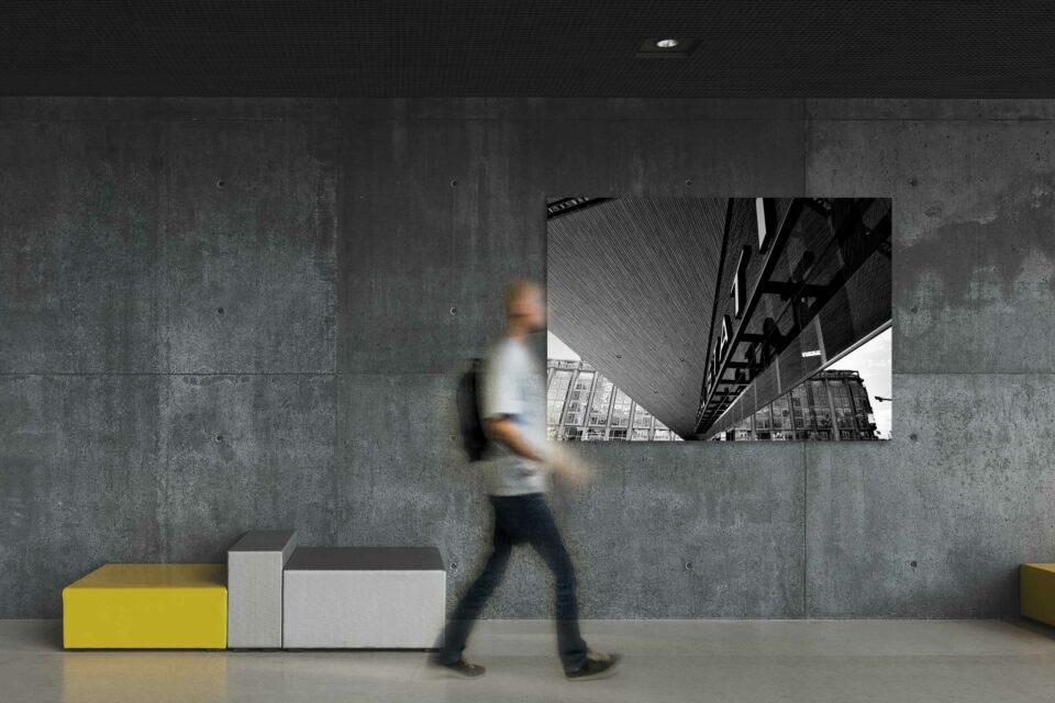 Rotterdam zwart wit foto van ©ZwartWit010 Rotterdam Centraal Station