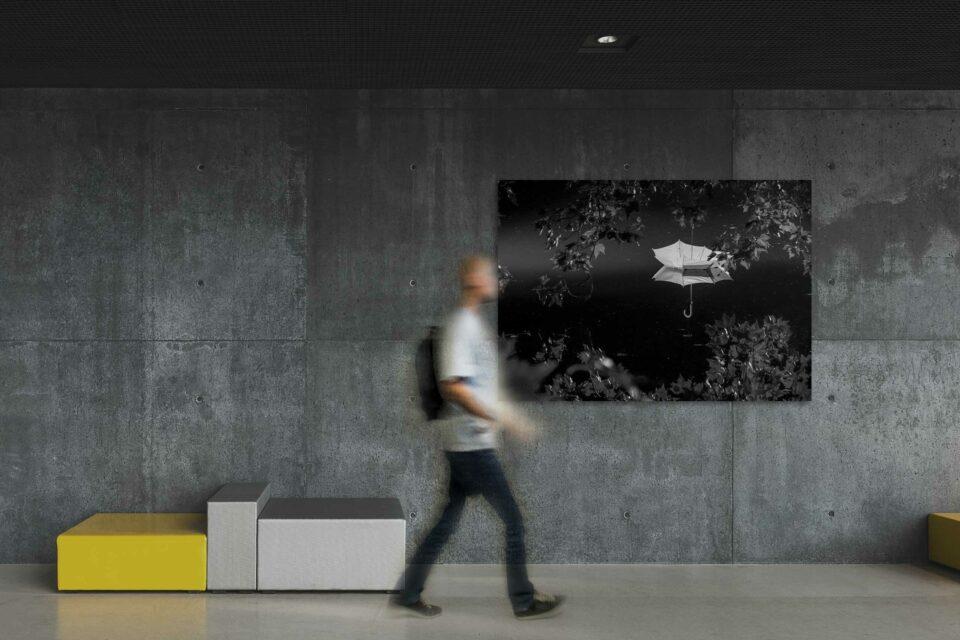 Rotterdam zwart wit foto van ©ZwartWit010. Pluutje – Witte de Withbrug