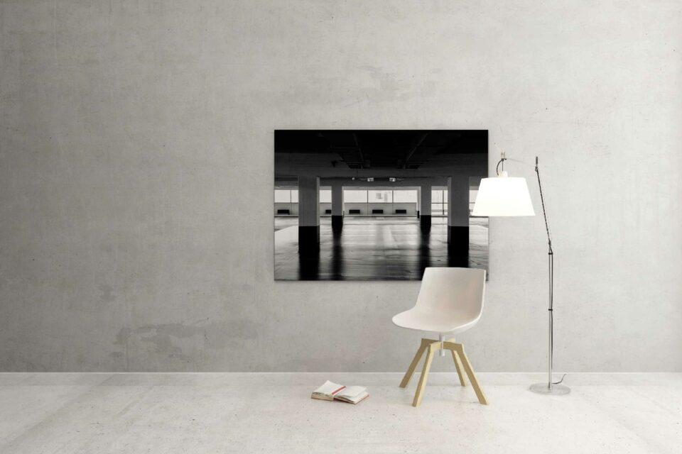 Rotterdam zwart wit foto van ©ZwartWit010. Q parc
