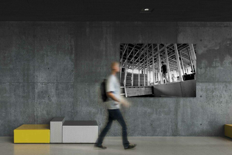 Rotterdam zwart wit foto van ©ZwartWit010. Stadsvernieuwing Rotterdam