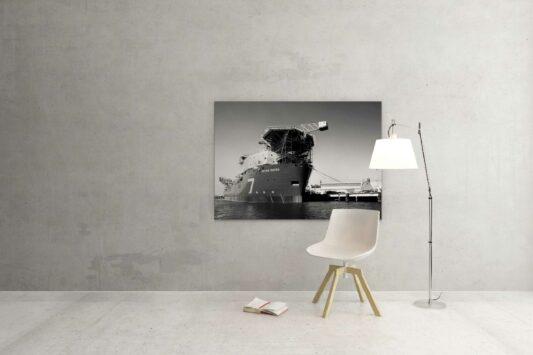 Rotterdam zwart wit foto van ©ZwartWit010 Seven Waves