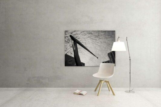 Rotterdam zwart wit foto van ©ZwartWit010. Schouwburgplein