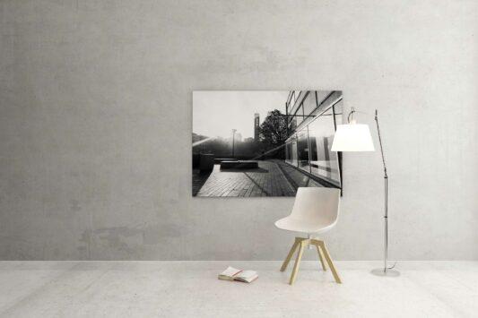 Rotterdam zwart wit foto van ©ZwartWit010Vlasmarkt