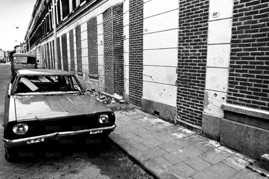 Rotterdam zwart wit foto van ©ZwartWit010. Rotterdam West