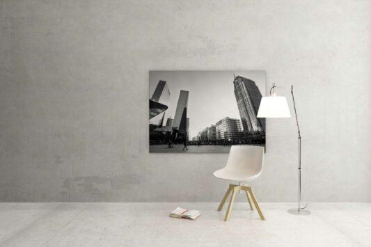 Rotterdam zwart wit foto van ©ZwartWit010 Stationsplein Rotterdam Centraal Station