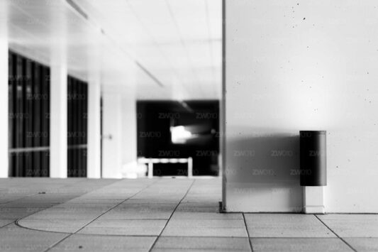 Rotterdam zwart wit foto van ©ZwartWit010 Doorgang tot de Boompjes
