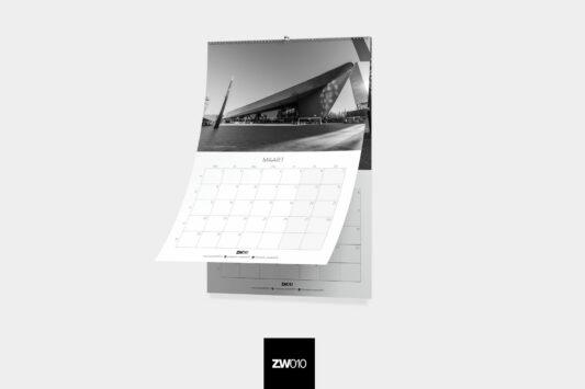 zwartwit010 rotterdam kalender